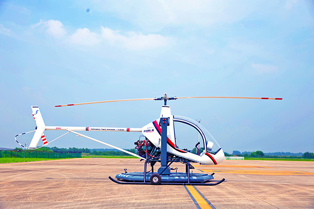 SVH-4直升培訓機 1