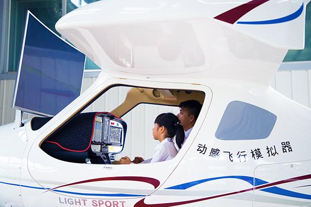 CTLS飛行模擬器_六軸動感 4